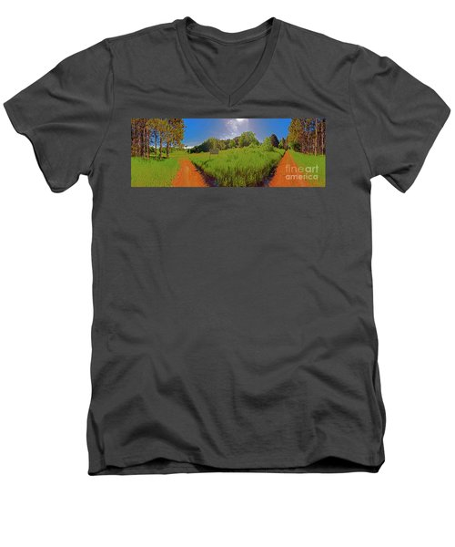 Wingate, Prairie, Pines Trail Men's V-Neck T-Shirt