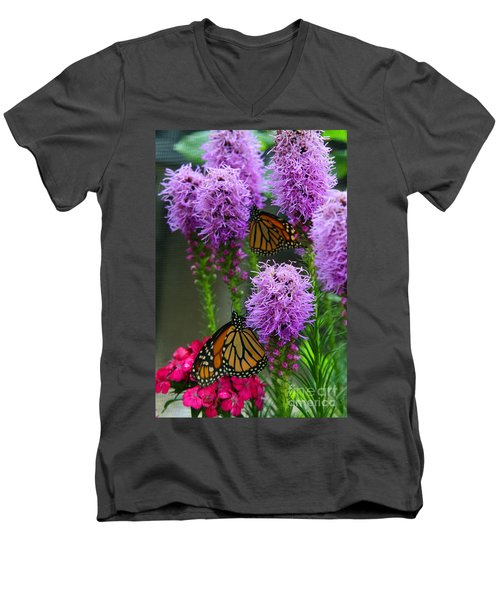Winged Beauties Men's V-Neck T-Shirt