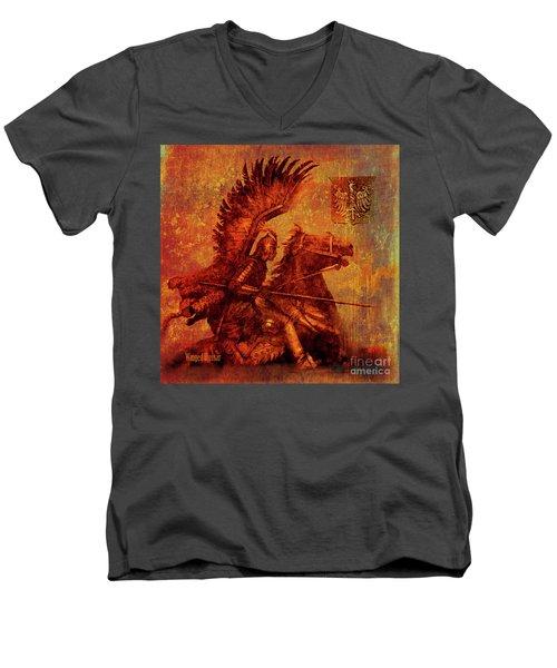 Winged Hussar 2016 Men's V-Neck T-Shirt