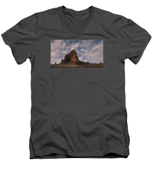 Winged Rock Men's V-Neck T-Shirt