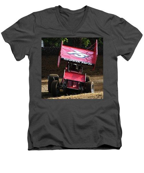 Wingin' It Into The Turn Men's V-Neck T-Shirt