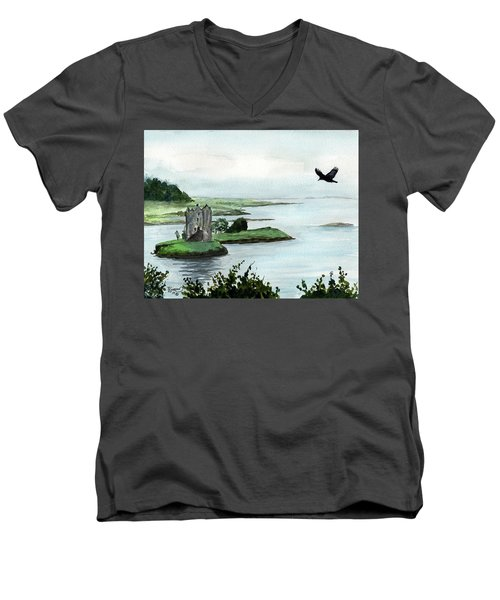 Winging Over Stalker Men's V-Neck T-Shirt