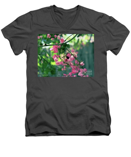 Men's V-Neck T-Shirt featuring the photograph Wings by Megan Dirsa-DuBois