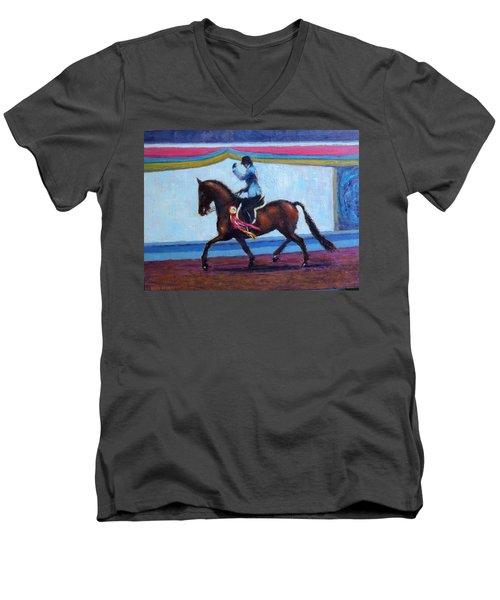 Winning Salute Men's V-Neck T-Shirt