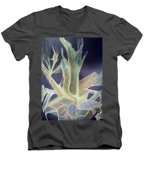 Winp 3 Men's V-Neck T-Shirt
