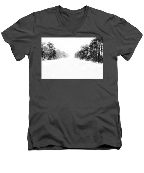 Winter Afternoon Men's V-Neck T-Shirt