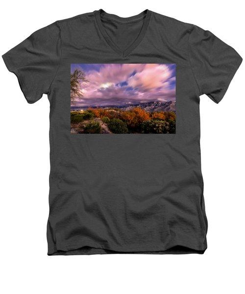 Winter Colors 25 Men's V-Neck T-Shirt