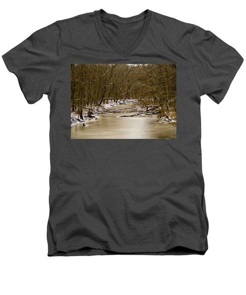 Winter Creek Men's V-Neck T-Shirt
