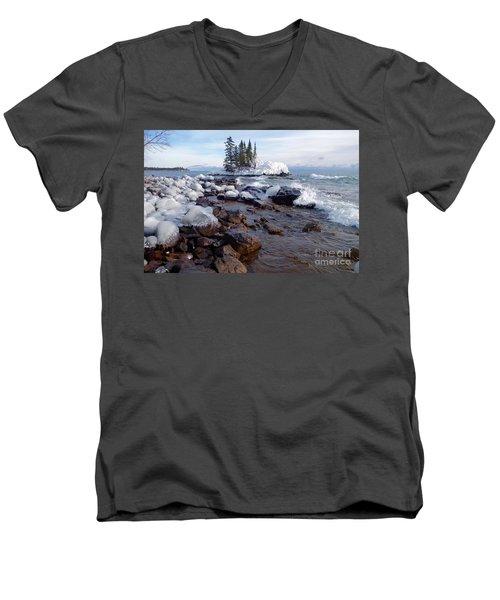 Winter Delight Men's V-Neck T-Shirt