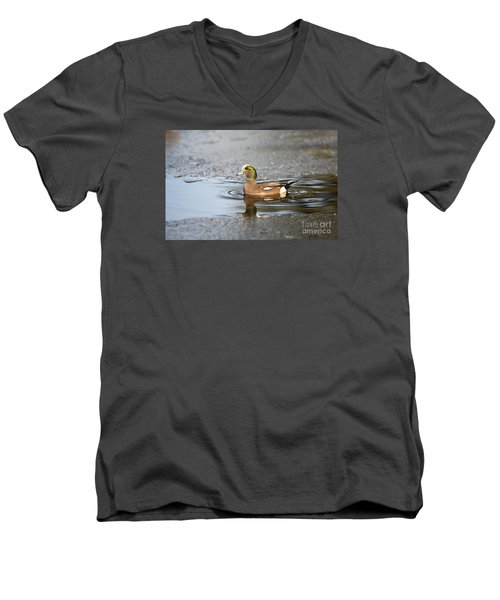 Winter Dip Men's V-Neck T-Shirt