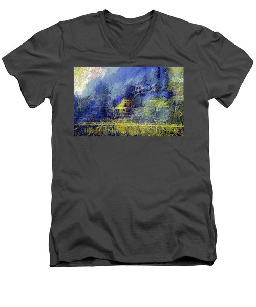 Winter Frosty Morning Men's V-Neck T-Shirt