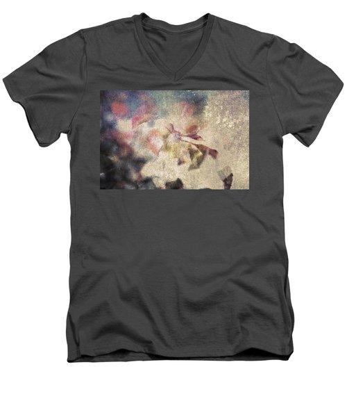 Winter Fugue Men's V-Neck T-Shirt