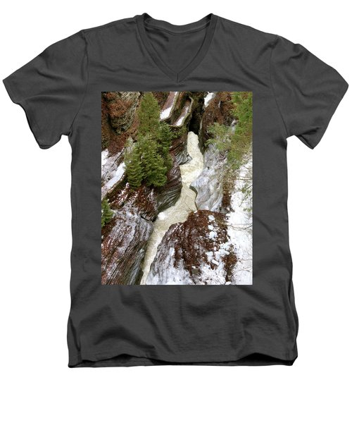 Winter Gorge Men's V-Neck T-Shirt