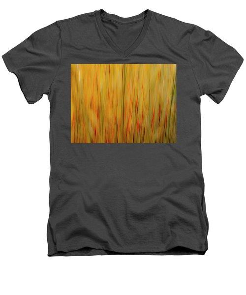 Winter Grasses #1 Men's V-Neck T-Shirt