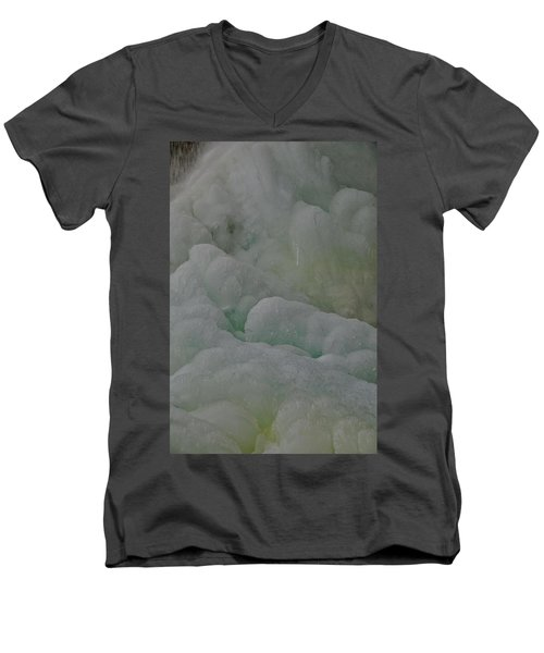 Winter Green Men's V-Neck T-Shirt
