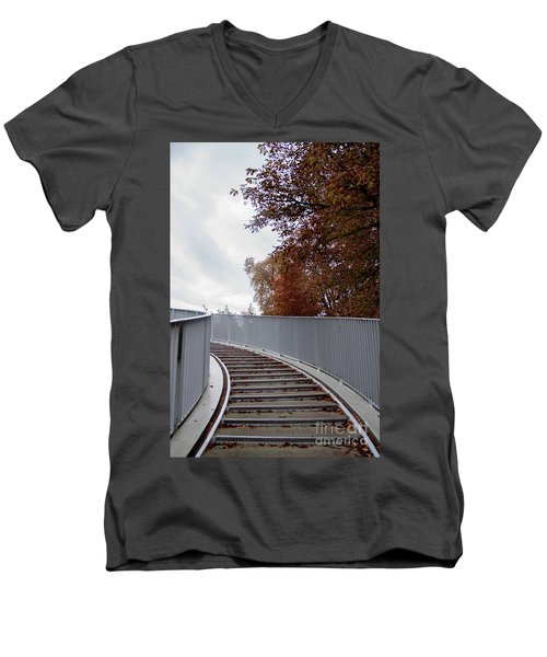 Winter Is Around The Corner Men's V-Neck T-Shirt