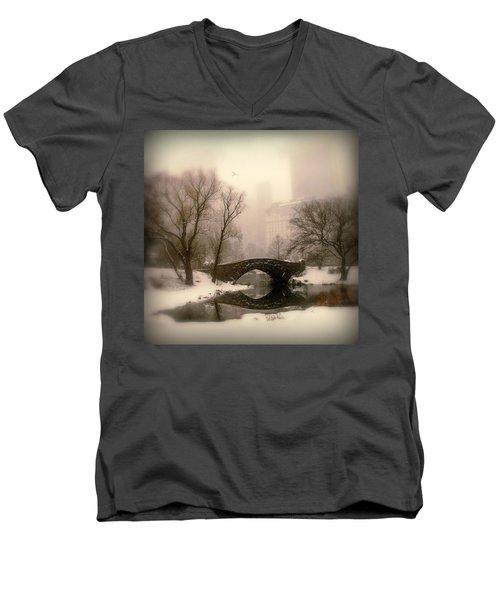 Winter Nostalgia Men's V-Neck T-Shirt