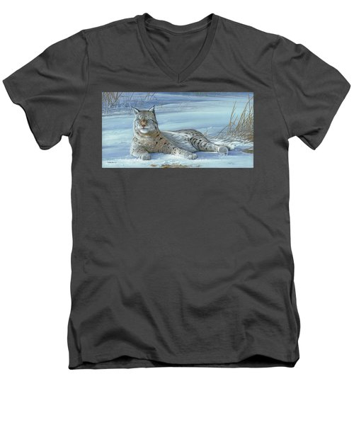 Winter Prince Men's V-Neck T-Shirt