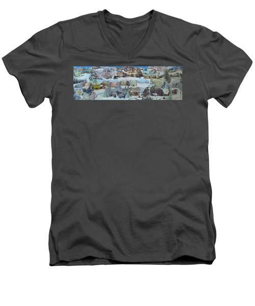 Winter Repose - Sold Men's V-Neck T-Shirt