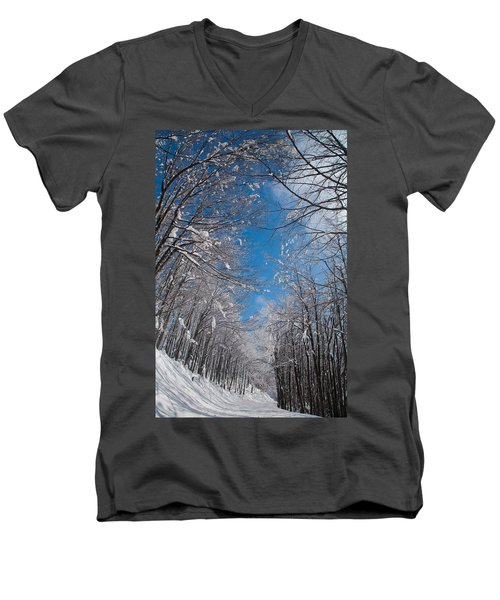 Winter Road Men's V-Neck T-Shirt