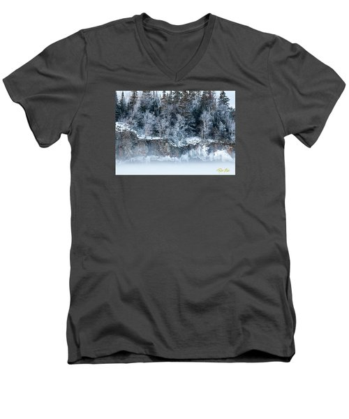 Winter Shore Men's V-Neck T-Shirt