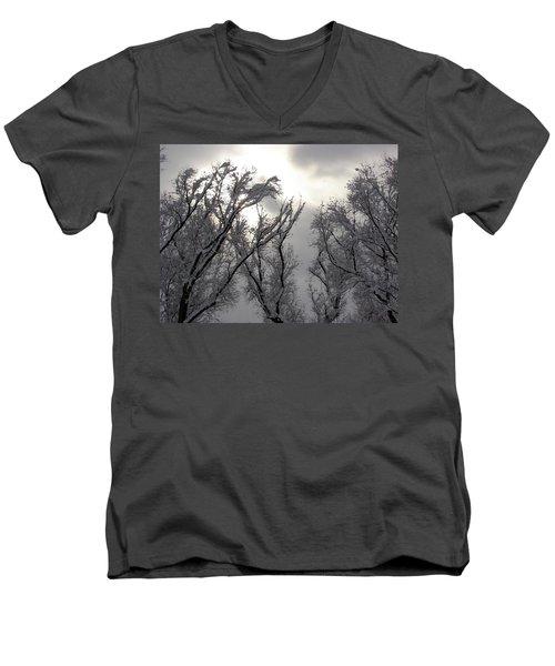 Winter Solstice Utah Men's V-Neck T-Shirt