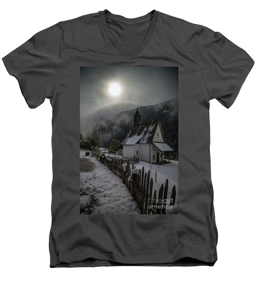 Winter Sun Men's V-Neck T-Shirt