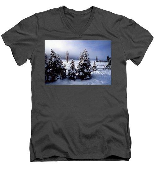 Winter Takes All Men's V-Neck T-Shirt