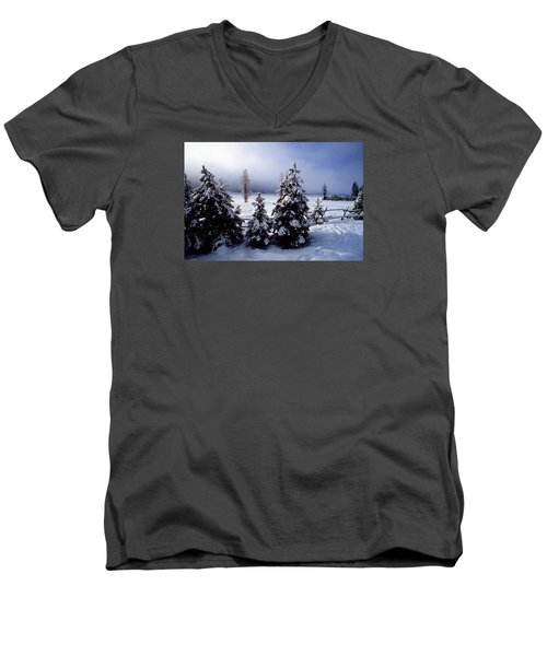 Winter Takes All Men's V-Neck T-Shirt