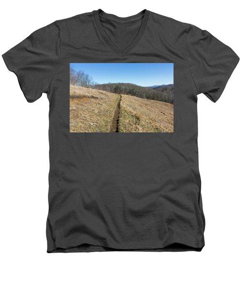 Winter Trail - December 7, 2016 Men's V-Neck T-Shirt