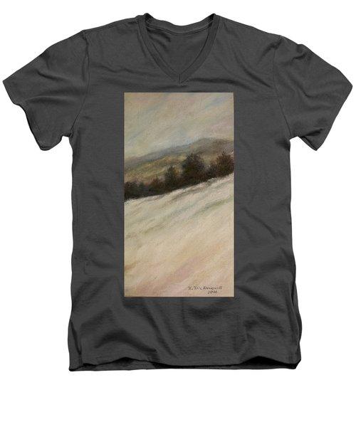 Winter Twilight Men's V-Neck T-Shirt