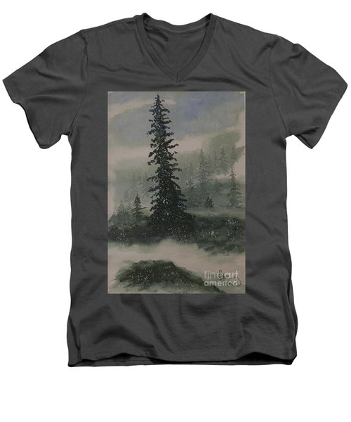 Winter Up North Men's V-Neck T-Shirt