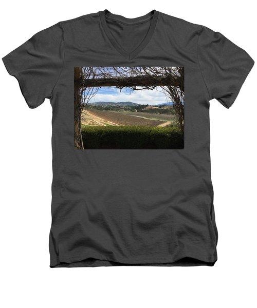 Winter Vines Men's V-Neck T-Shirt