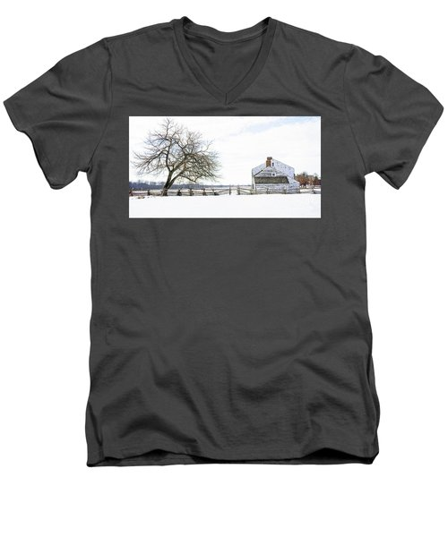 Winter White Out Men's V-Neck T-Shirt