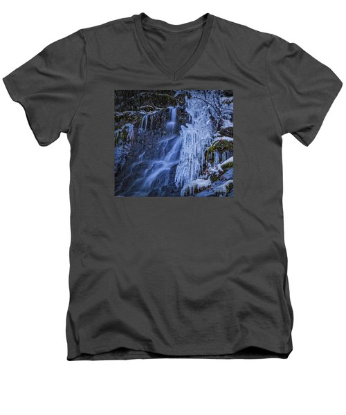 Winterfalls Men's V-Neck T-Shirt