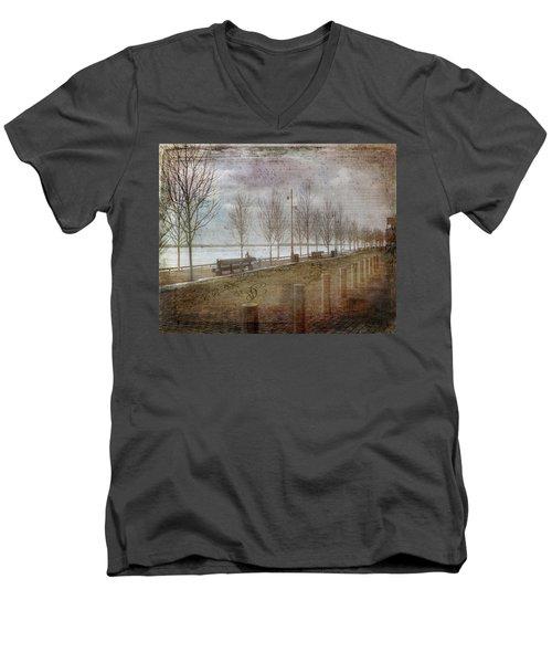 Winters Edge Men's V-Neck T-Shirt
