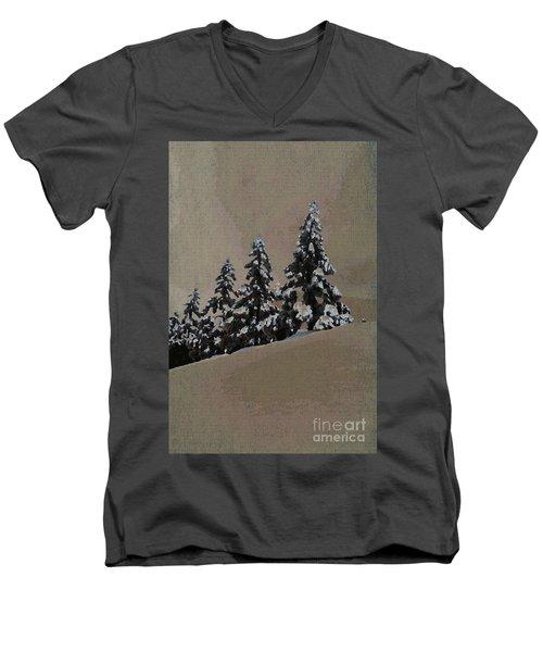 Winters Eve Men's V-Neck T-Shirt
