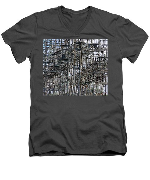 Wired Men's V-Neck T-Shirt
