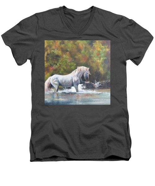 Wisdom Of The Wild Men's V-Neck T-Shirt