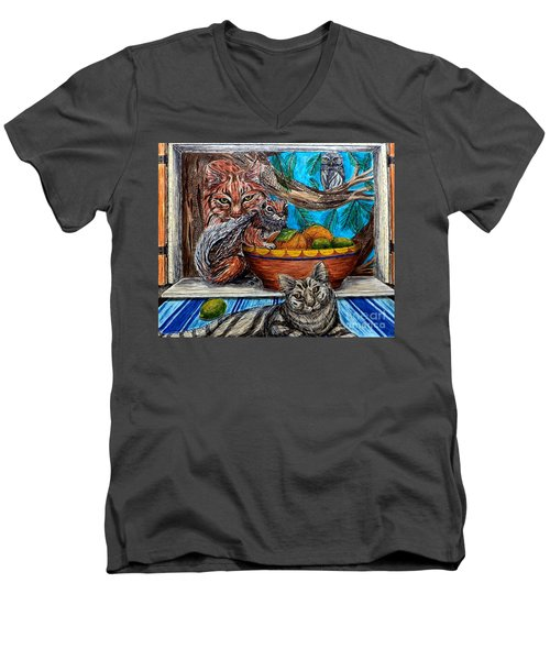 Wisdom Would Say Men's V-Neck T-Shirt