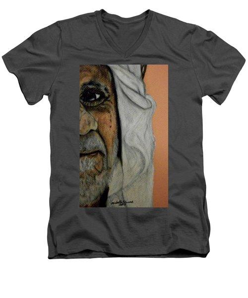 Wisdow Eye Men's V-Neck T-Shirt