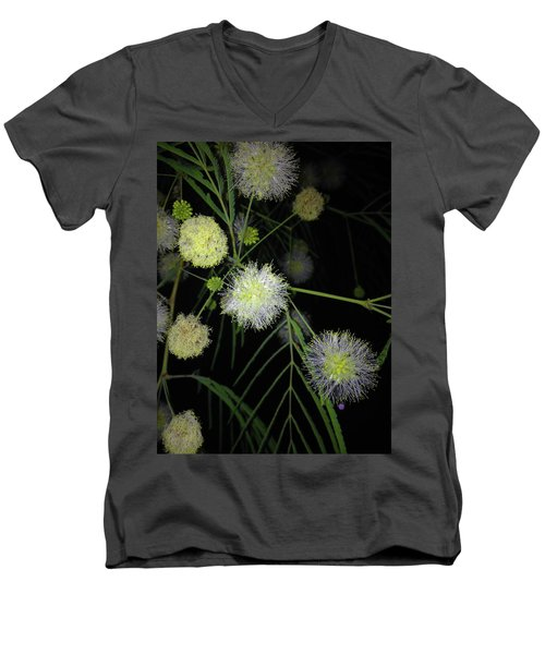 Wishing On A          J L H Men's V-Neck T-Shirt by Kimo Fernandez