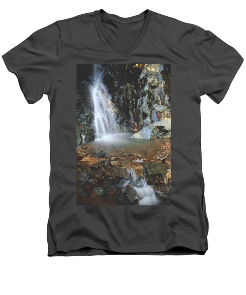 Men's V-Neck T-Shirt featuring the photograph With Heart And Soul by Laurie Search