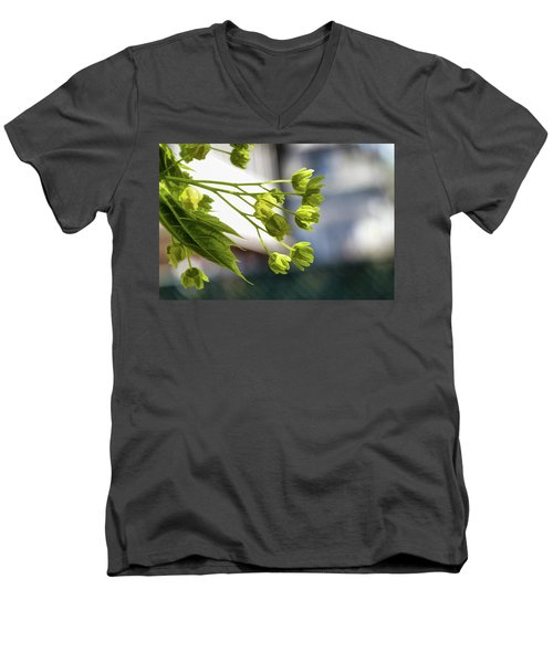 With The Breeze - Men's V-Neck T-Shirt