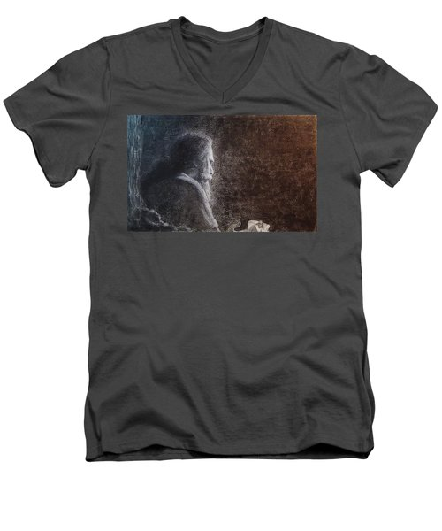 Within The Flicker Of Dreams Men's V-Neck T-Shirt