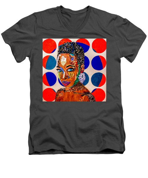 Without Question - Danai Gurira I Men's V-Neck T-Shirt