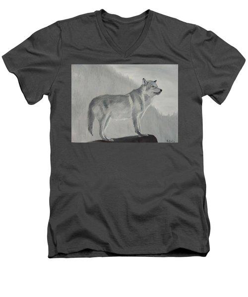 Vantage Point Men's V-Neck T-Shirt