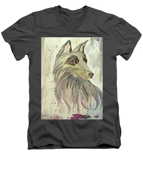 Wolfie Men's V-Neck T-Shirt