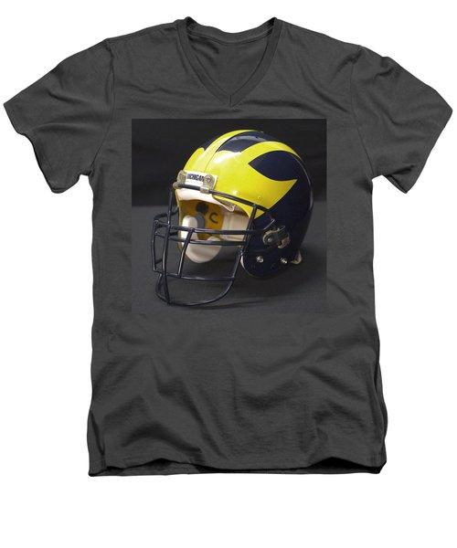 Wolverine Helmet From The 1990s Men's V-Neck T-Shirt