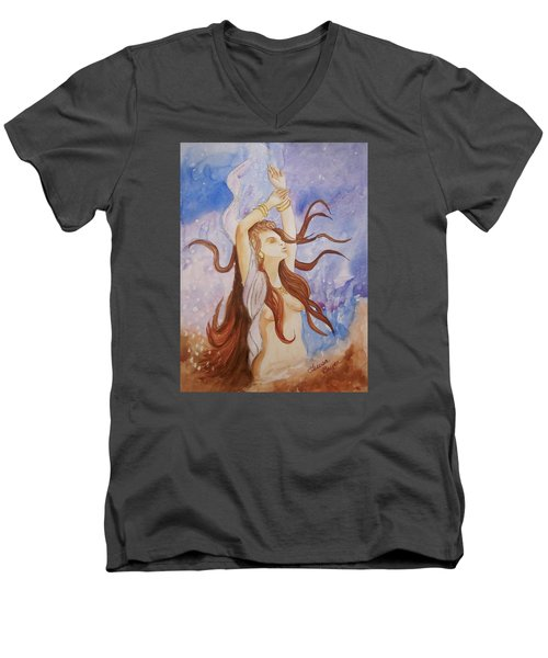Woman Unleashed Men's V-Neck T-Shirt